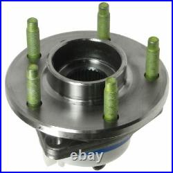 TIMKEN 513179 Front Wheel Hub & Bearing Assembly Set Pair for GM Car Van with ABS