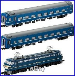 TOMYTEC TOMIX N gauge Passenger car 92332 EF66 Blue Train Set 3 both Railway