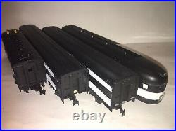 TYCO CANADIAN NATIONAL 3 CAR PASSENGER CAR F 7 DIESEL SET TESTED LUBED RUNS OBs