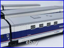 Talgo Pendular 200 HO 6 Passenger car train set Amtrak Electrotren FREE SHIP exc