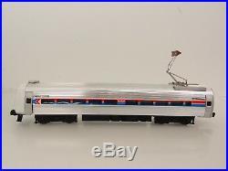 Vintage Elliot Welz O Scale Amtrak Amfleet Metroliner 4 Car Passenger Set