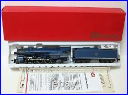 Vintage RIVIROSSI HO The BLUE COMET CNJ 4-6-2 PACIFIC NIB & 5 CAR PASSENGER SET
