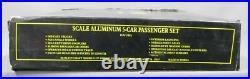 Weaver 1220 Wabash Alumunum 5-Car Passenger Set EX/Box
