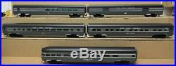 Weaver LTD Edition NYC 20th Cent. 21 5-Car Alum. Passenger Set O-Gauge RARE NOS