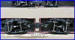 Weaver PRR 5-Stripe 20 Alum 5-Car Passenger Set O-Scale 2-Rail USED DAMAGED