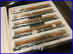 Weaver Trains Rio Grande Aluminum 20'' Scale Passenger 5 Car Set O Scale