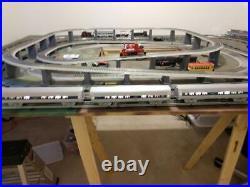 Williams Alluminum Amtrak 60`, O Scale, 3 Passenger Car Set, Tested. Nice