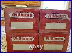 Williams Texas Special Set Of 4 Aluminum Streamlined Passenger Cars- New In Box